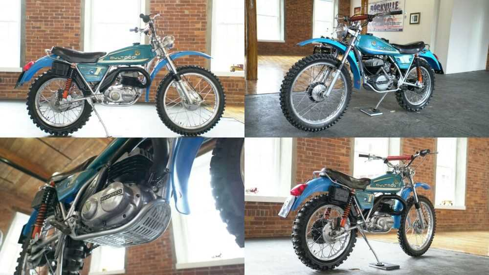 1976 Bultaco Alpina 250 Blue for sale