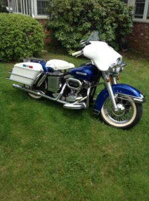 1976 Harley-Davidson Electric Glide FLH Blue / white for sale