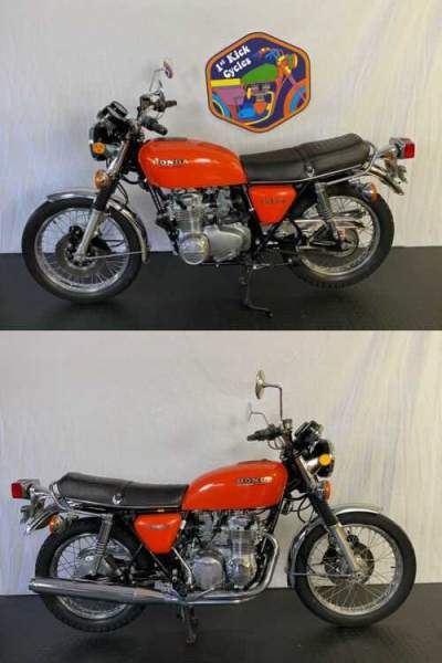 1976 Honda CB Orange for sale