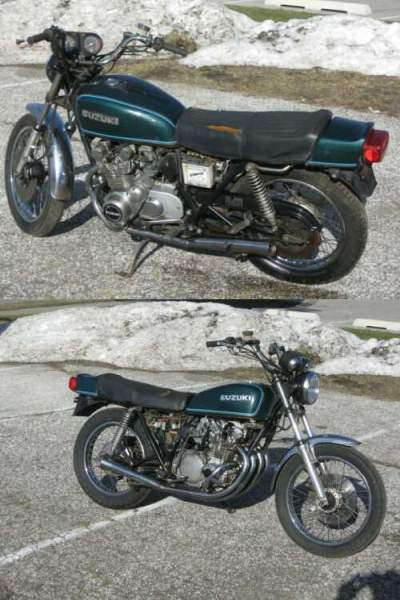 1977 Suzuki GS Teal for sale