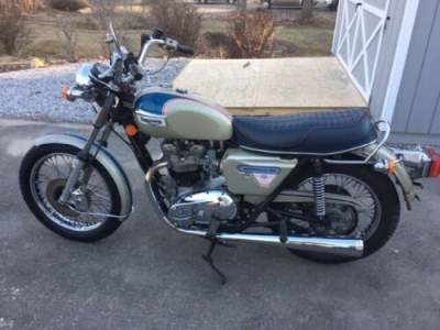 1977 Triumph Bonneville Silver for sale craigslist