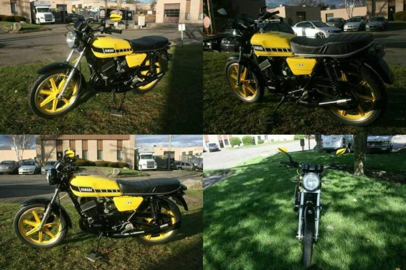 1977 Yamaha RD400 Yellow for sale craigslist