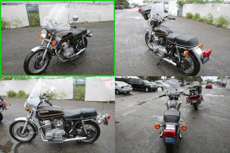 1978 Honda CB750 Black for sale craigslist