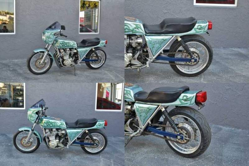 1978 Kawasaki Z1R KZ1000 Green for sale