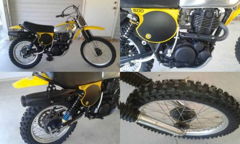 1978 Yamaha TT YELLOW/ SILVER for sale