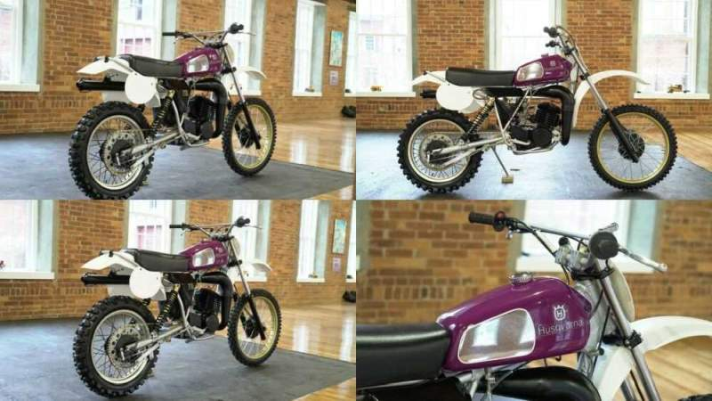 1979 Husqvarna OR250 Purple for sale craigslist