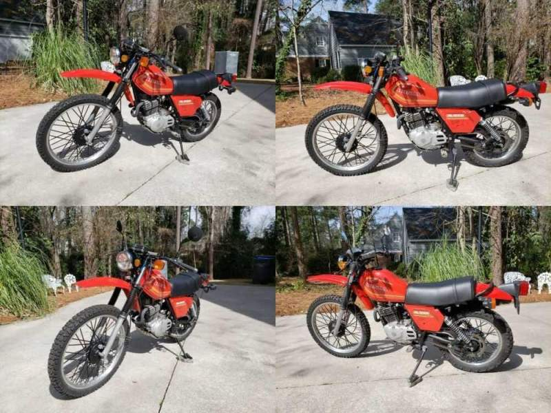 1980 Honda XL500S Monza Red for sale craigslist