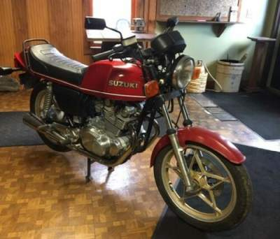1980 Suzuki 450 S Red for sale craigslist