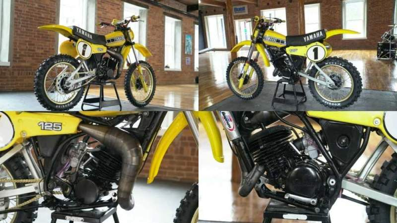 1980 Yamaha YZ Yellow for sale craigslist