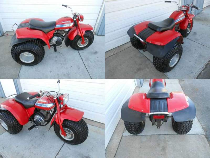 1981 Honda ATC200 Red for sale