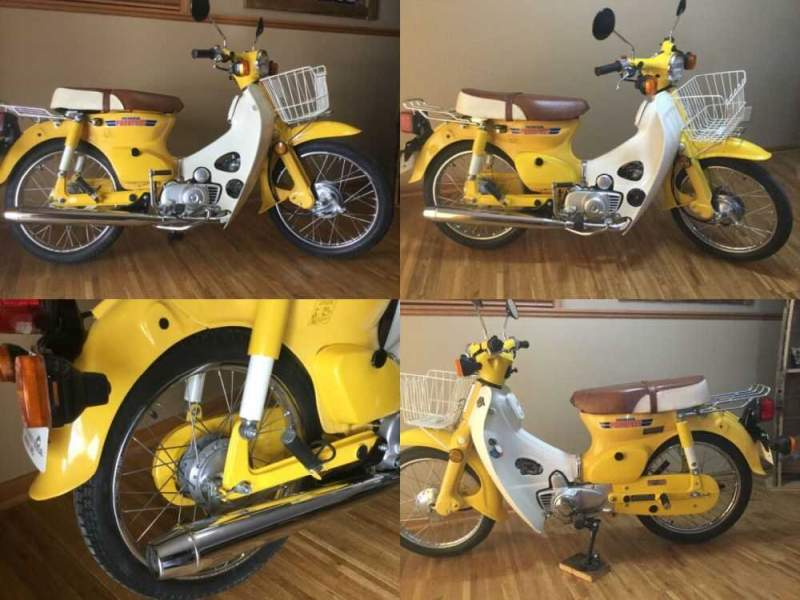 1981 Honda C70 Passport Yellow for sale