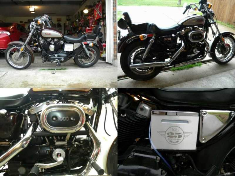 1982 Harley-Davidson Sportster 25TH ANNIVERSITY for sale