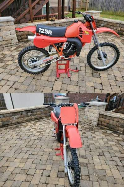 1982 Honda Cr125 Red for sale