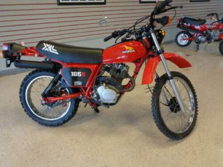 1982 Honda XL 185S Red for sale