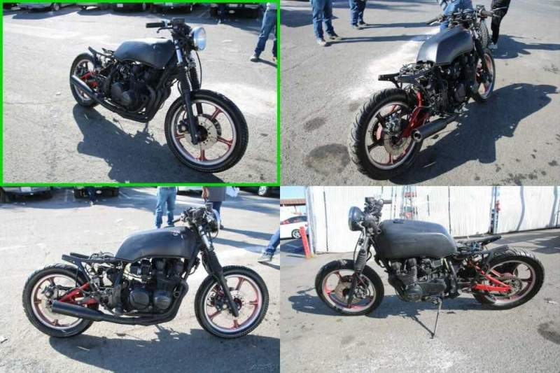 1982 Kawasaki KZ550 H Black for sale craigslist