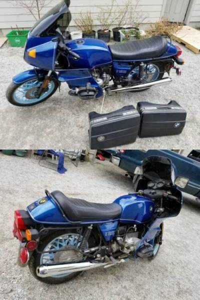 1983 BMW R-Series Blue for sale craigslist