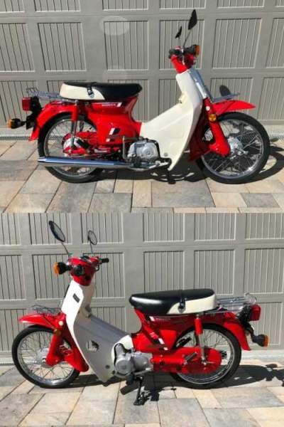 1983 Honda C70 Passport Red for sale