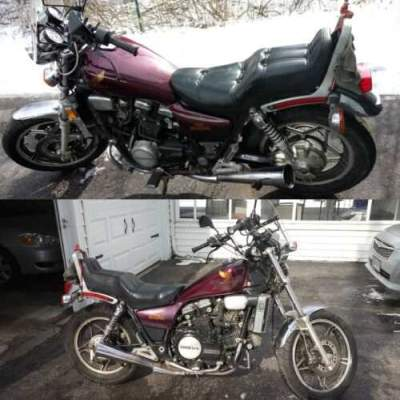 1983 Honda Magna Purple for sale craigslist