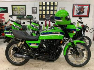 1983 Kawasaki KZ1000R EDDIE LAWSON REPLICA Green for sale