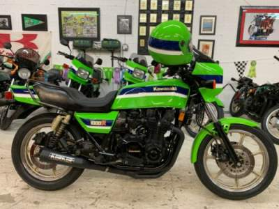 1983 Kawasaki KZ1000R EDDIE LAWSON SUPERBIKE REPLICA Green for sale craigslist