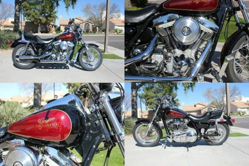 1984 Harley-Davidson FXR for sale craigslist