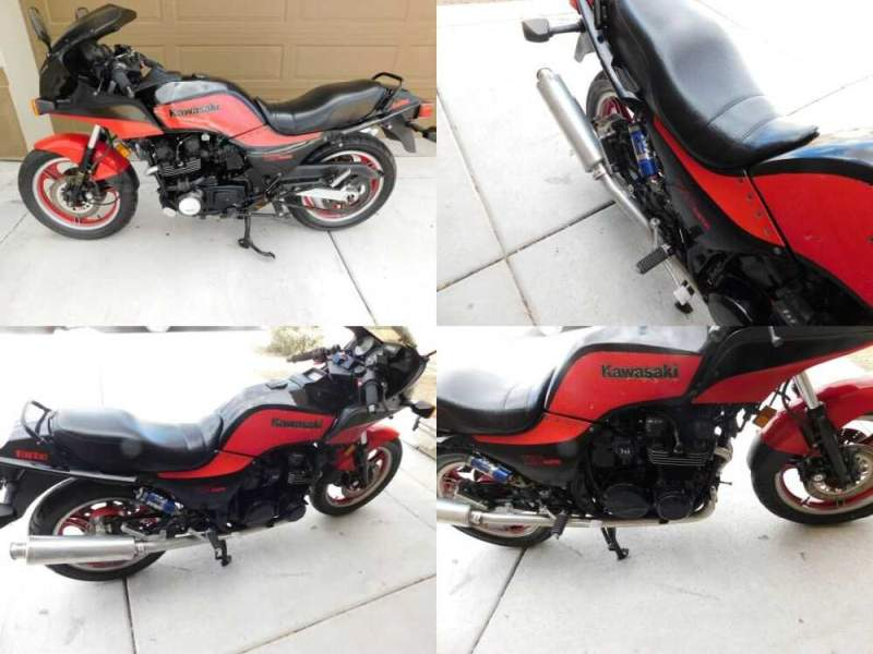 1985 Kawasaki GPZ ZX 750 E2 TURBO Red for sale craigslist