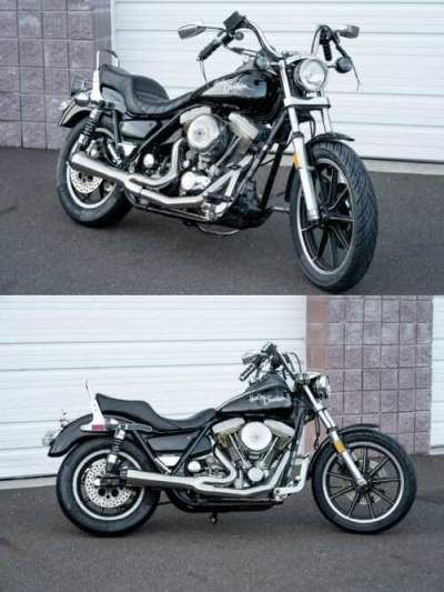 1986 Harley-Davidson FXR Black for sale