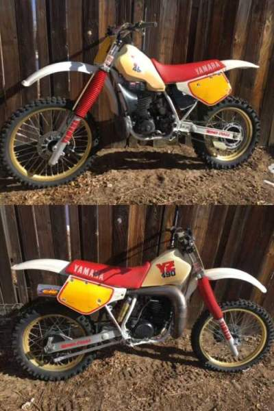 1987 Yamaha YZ White for sale