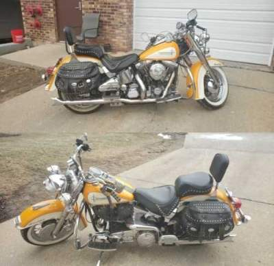 1988 Harley-Davidson Softail Yellow for sale