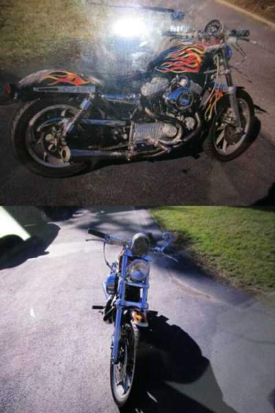 1988 Harley-Davidson Sportster FLAMES for sale