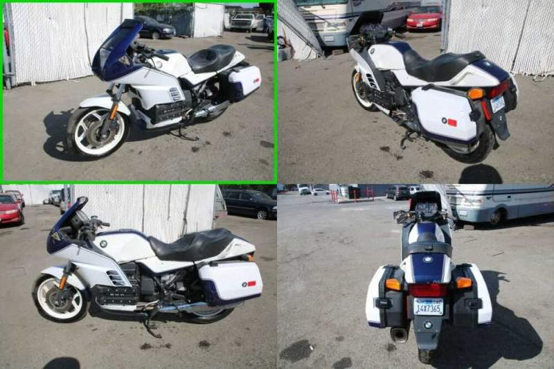 1989 BMW K-Series 100 RS Blue and White for sale craigslist