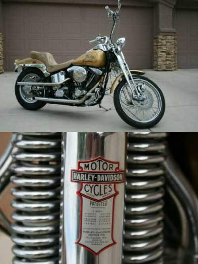 1989 Harley-Davidson Softail Gold for sale