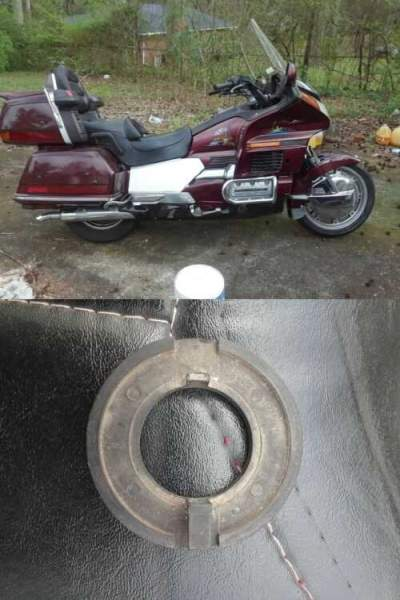 1989 Honda Gold Wing Burgundy for sale craigslist