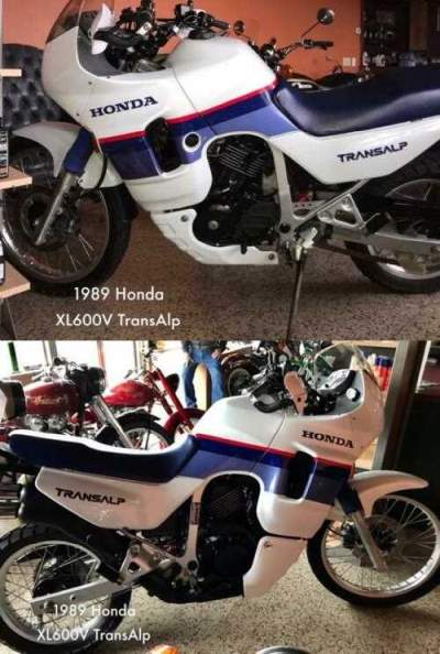 1989 Honda Other TransAlp Blue for sale