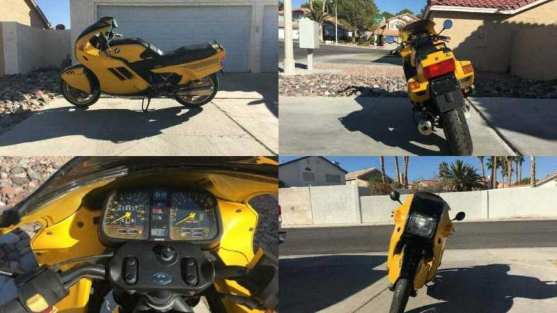 1990 BMW K-Series Yellow for sale