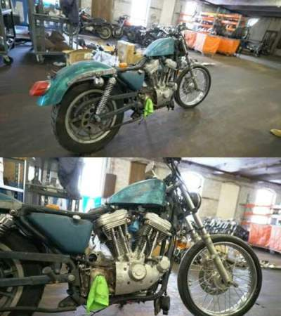 1990 Harley-Davidson Sportster Blue for sale