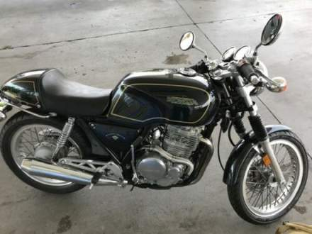 1990 Honda GB500 Green for sale