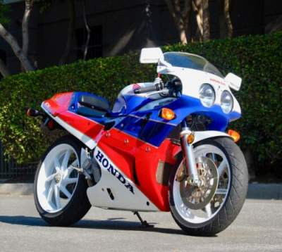 1990 Honda VFR 750R RC30 Red for sale