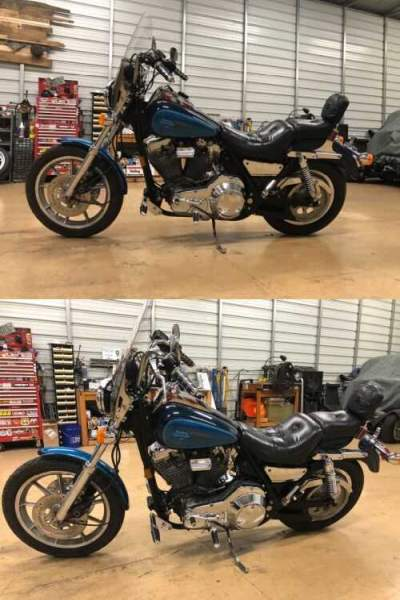 1991 Harley-Davidson FXR Blue for sale craigslist