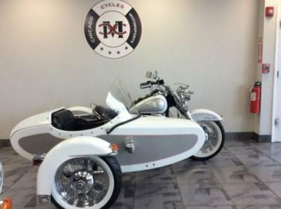 1994 Harley-Davidson FLSTN NOSTALGIA SIDE CAR Silver for sale craigslist