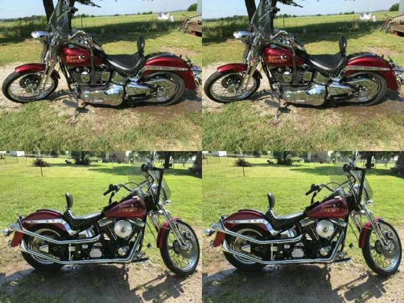 1994 Harley-Davidson Softail Red for sale