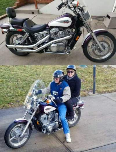 1995 Honda Shadow Purple for sale