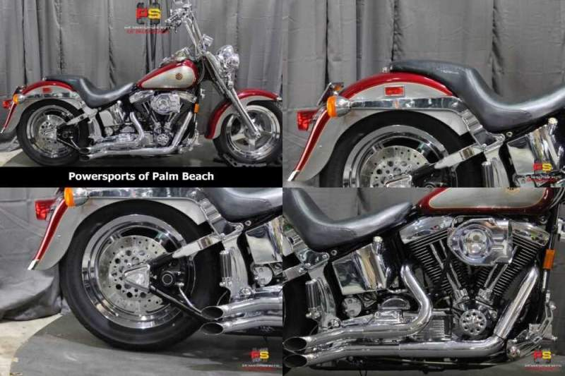 1996 Harley-Davidson Fatboy Gray for sale