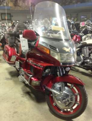 1996 Honda GOLDWING 1500 Red for sale craigslist
