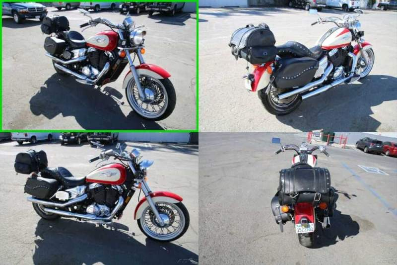 1997 Honda Shadow White and Red for sale craigslist