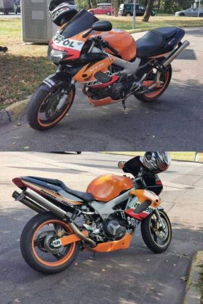 1997 Honda VTR Orange for sale craigslist