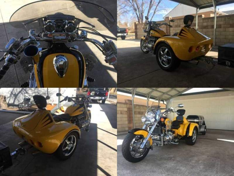 1997 Honda Valkyrie Yellow and black for sale craigslist