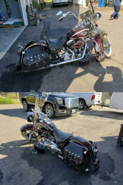 1998 Harley-Davidson Softail Burgundy for sale