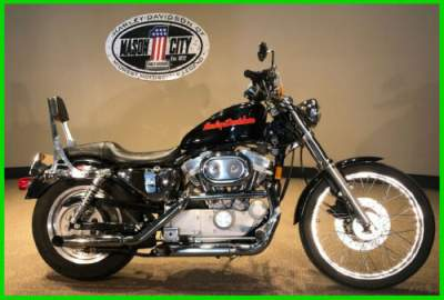 1999 Harley-Davidson Sportster 883 Custom Vivid Black for sale