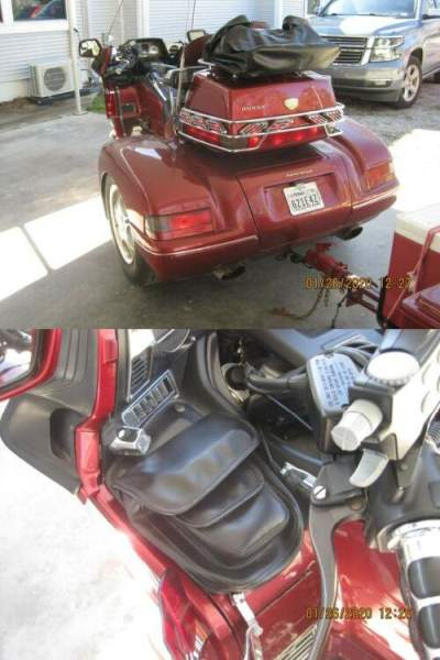 1999 Honda Goldwing 1500 Trike Red for sale craigslist